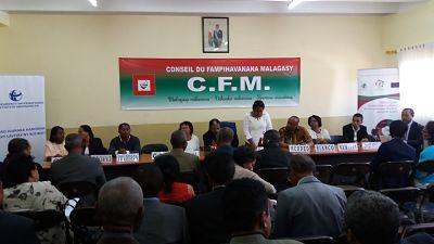 Sensibilisation des représentants de candidats pour la bonne tenue de l'élection présidentielle